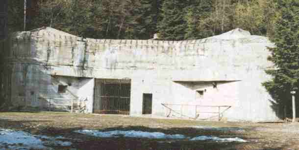 photo of blockhouse of entry K-22a
